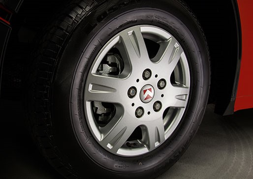 "16"" Aluminum Alloy Wheels"