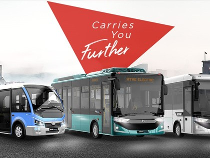 Karsan mette in mostra la sua linea di autobus Atak Electric e Jest Electric all'esposizione Busworld Europe!