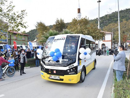 Karsan Maintains Delivery at Full Speed 28 Jest+ Minibuses Now in Service in the city of Bursa, Turkey!