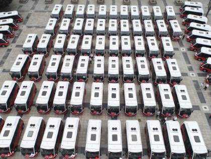 A Massive Fleet of Jest + Vehicles for Düzce/Turkey by Karsan!