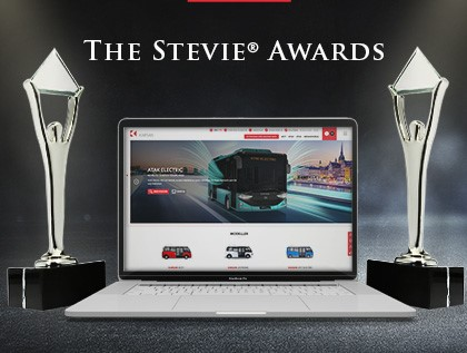 Karsans Website zwei Mal bei den International Stevie Awards® ausgezeichnet