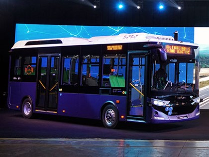 Autonomous Atak Electric, Europe's and USA's first serial-produced self-driving bus, is ready to hit the roads!