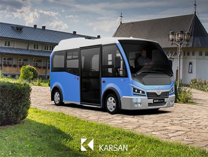 Karsan Won the Tender for 10 Electric Minibuses in Suceava!