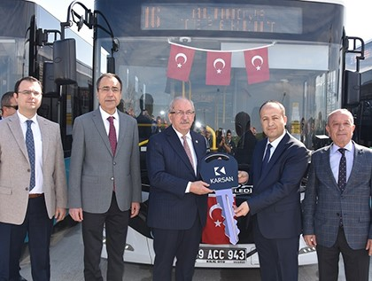 The Turkish City of Tekirdağ Re-Energizes its Transportation Networks with Karsan Atak!