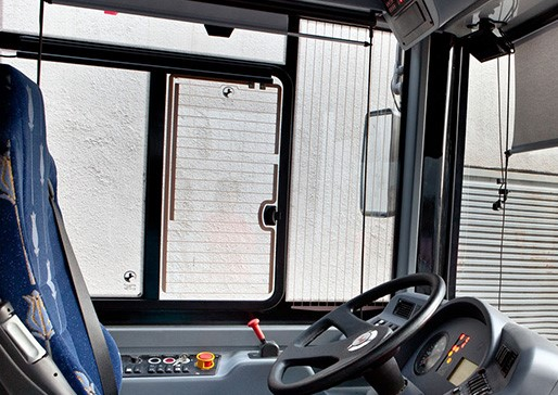Twin Sliding Heated Driver's Window